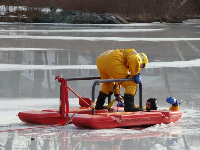 Ice Rescue Arrive Alive sled