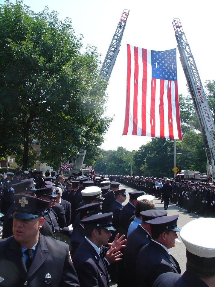 Firefighter Warren Payne Funeral