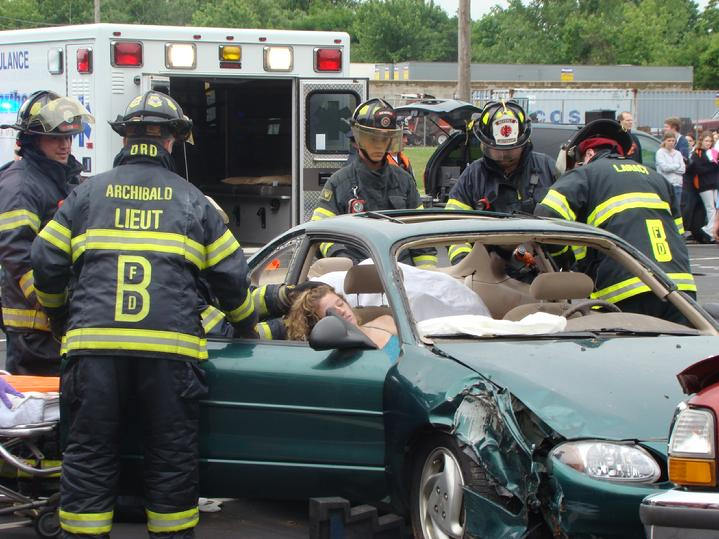 Mock Prom Crash
